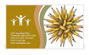 Creative node Business Card Template