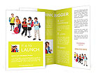 Schoolchildren Brochure Templates