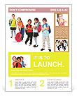 Schoolchildren Flyer Template
