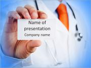 Business Card Doctor PowerPoint Templates