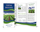 Cultivation of agricultural crops Brochure Template
