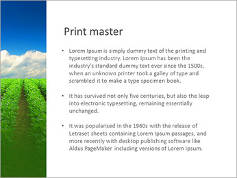 Cultivation of agricultural crops PowerPoint Template - Slide 76