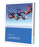 Team parachutists Presentation Folder
