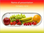The fruitiness is set PowerPoint Templates
