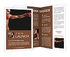 Power and precision Brochure Templates