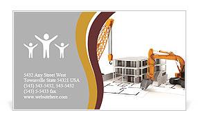 Demolition of buildings business card template design id demolition of buildings business card template colourmoves