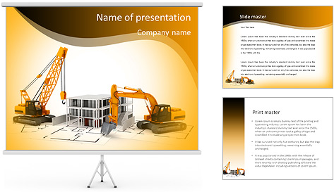 Demolição de edifícios Modelos de apresentações PowerPoint