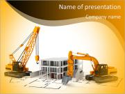 Demolition of buildings PowerPoint Templates