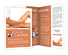 Foot Massage female Brochure Templates