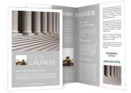Columns brochure template design id 0000008334 for 3 column brochure template
