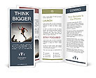 Jump to the goal Brochure Templates