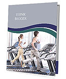 Training on a treadmill Presentation Folder