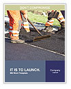 Laying asphalt Word Templates