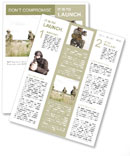 Military Newsletter Template