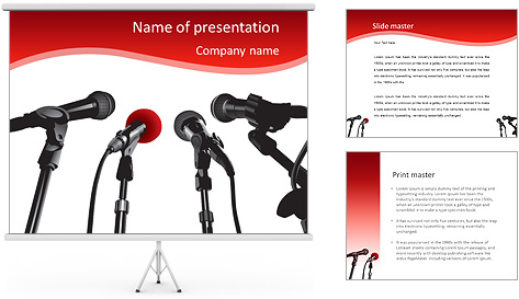 conference powerpoint template amp backgrounds id 0000008346