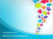 Fountain puzzles PowerPoint Templates