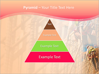 Trabalhador da construção a uma altura Modelos de apresentações PowerPoint - Slide 10