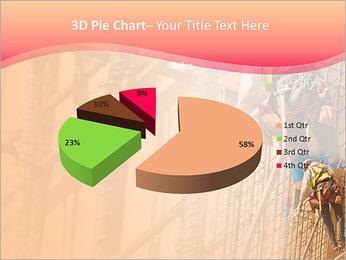 Trabalhador da construção a uma altura Modelos de apresentações PowerPoint - Slide 15
