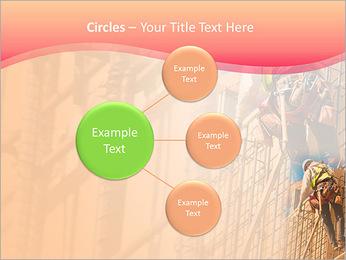 Trabalhador da construção a uma altura Modelos de apresentações PowerPoint - Slide 59