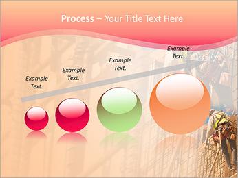 Trabalhador da construção a uma altura Modelos de apresentações PowerPoint - Slide 67