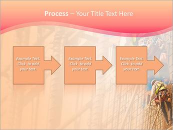 Trabalhador da construção a uma altura Modelos de apresentações PowerPoint - Slide 68