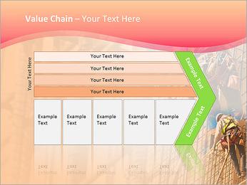 Trabalhador da construção a uma altura Modelos de apresentações PowerPoint - Slide 7