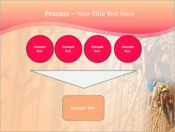 Trabalhador da construção a uma altura Modelos de apresentações PowerPoint - Slide 73