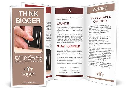 Spa Treatments Acupuncture Brochure Template Design ID - Spa brochure templates