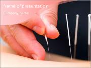 Spa treatments acupuncture PowerPoint Templates
