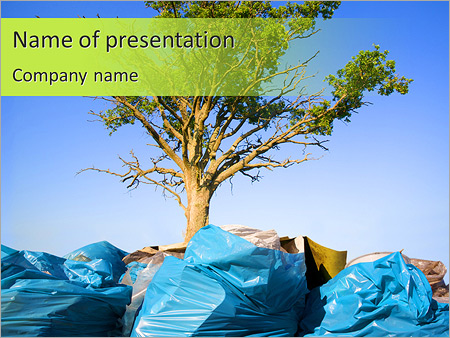 protect the environment powerpoint template & backgrounds id, Modern powerpoint