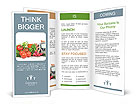 Fresh vegetables Brochure Templates