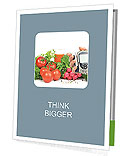 Fresh vegetables Presentation Folder
