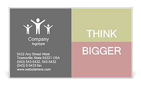New ideas Business Card Template