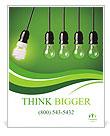 Energy-saving technologies Poster Template