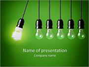 Energy-saving technologies PowerPoint Templates