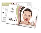 Cosmetics Postcard Template