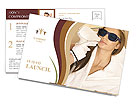 Cosmetic procedures Postcard Template
