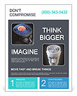 The core of the brain Flyer Template