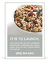 Healthy Breakfast Ad Template