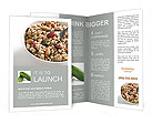 Healthy Breakfast Brochure Template