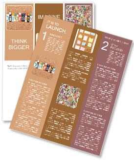 Diversity Newsletter Template Design Id 0000008403