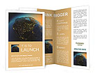 Part of the planet Brochure Templates