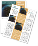 Part of the planet Newsletter Templates