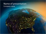 Part of the planet PowerPoint Templates