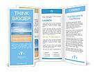 Sea, summer Brochure Templates