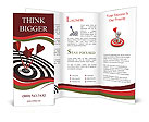 Right on target Brochure Templates