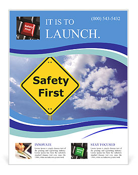 safety first flyer template design id 0000008416 smiletemplates com