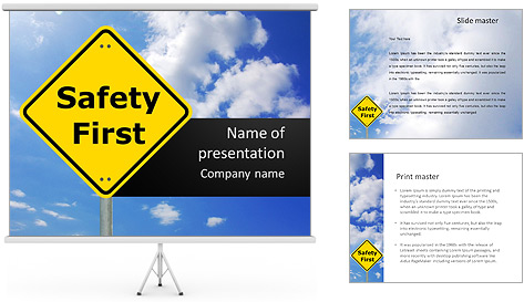 Safety First PowerPoint Template Backgrounds ID 0000008416 – Safety Powerpoint Template