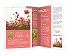 Flower field Brochure Templates