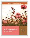 Flower field Word Templates